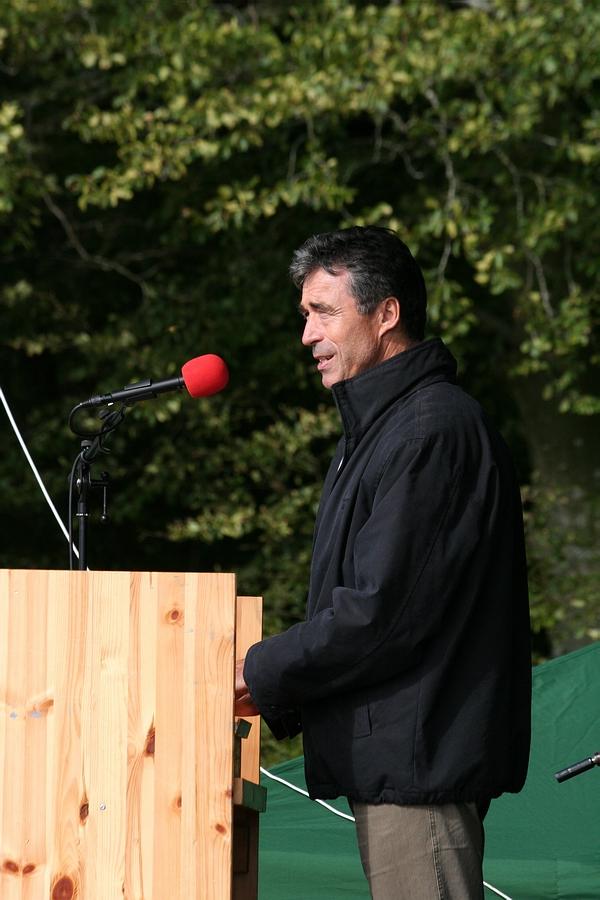 Afslappet statsminister