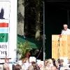 Formanden holder tale